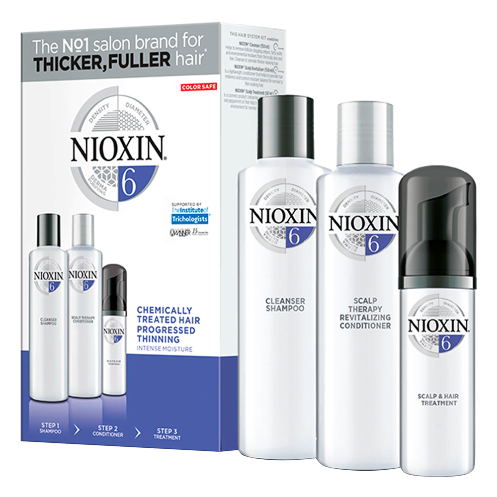 Nioxin Chemically Treated Hair Progressed Thinning 6