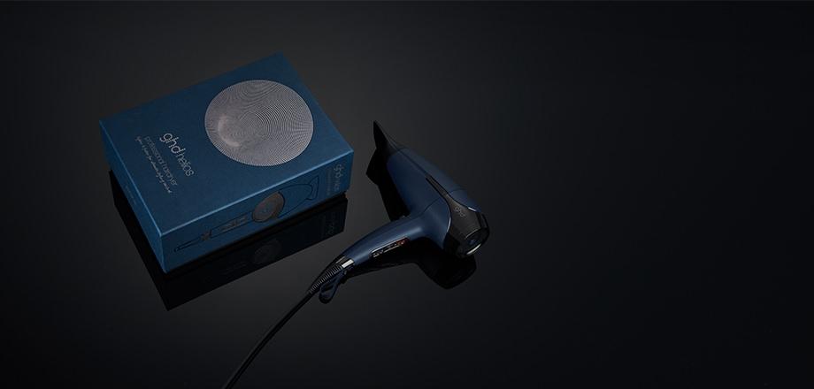 secador profesional ghd helios azul